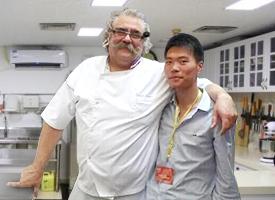 杜仁杰老师和德国烘焙大师合影